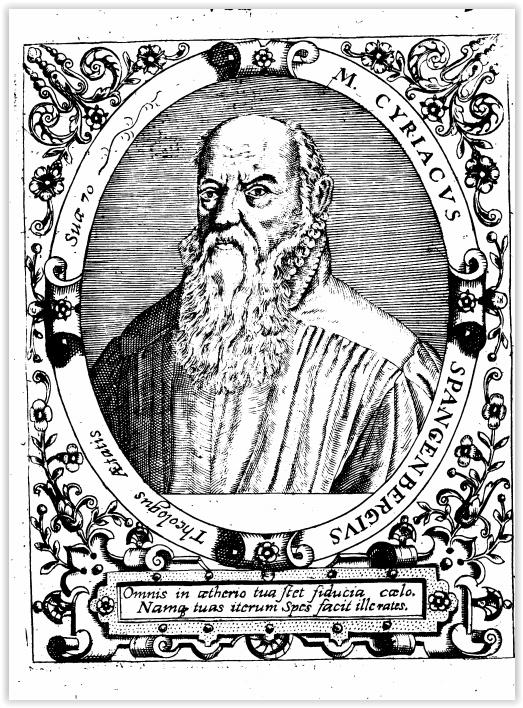 Cyriacus Spangenberg