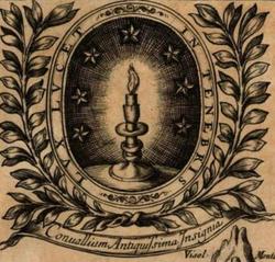 Lux lucet in tenebris - Wappen der Waldenser