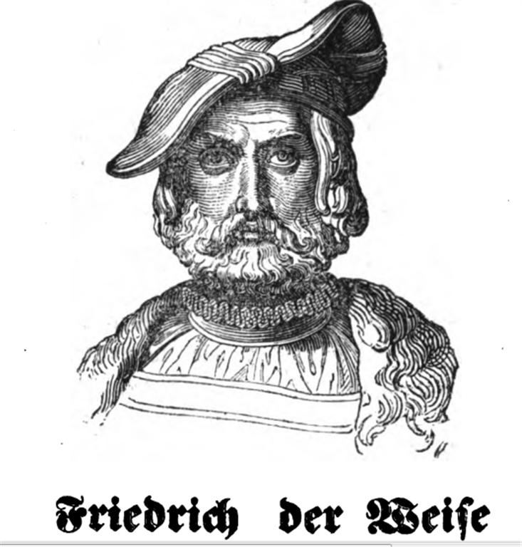 Portrait Friedrich der Weise