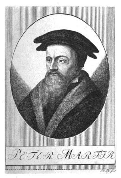 Portrait Petrus Martyr Vermigli