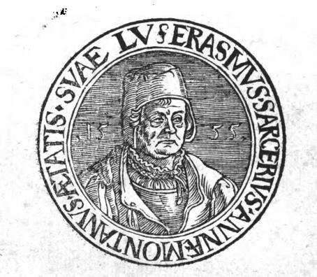 Portrait Erasmus Sarcerius