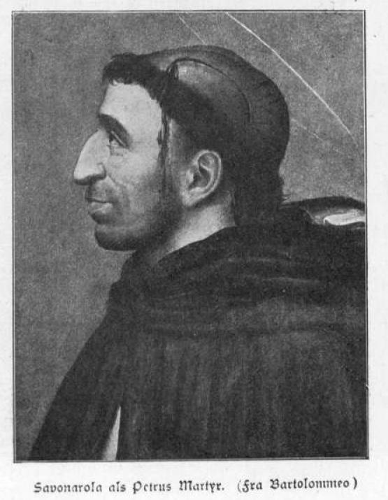 Portrait Savonarola