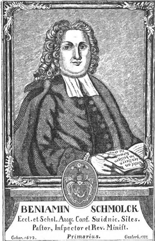 Portrait Benjamin Schmolck