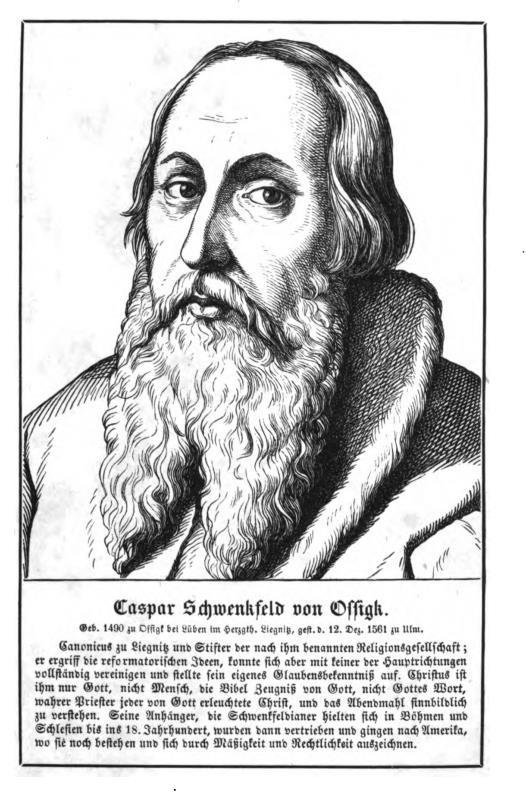 Caspar Schwenkfeld
