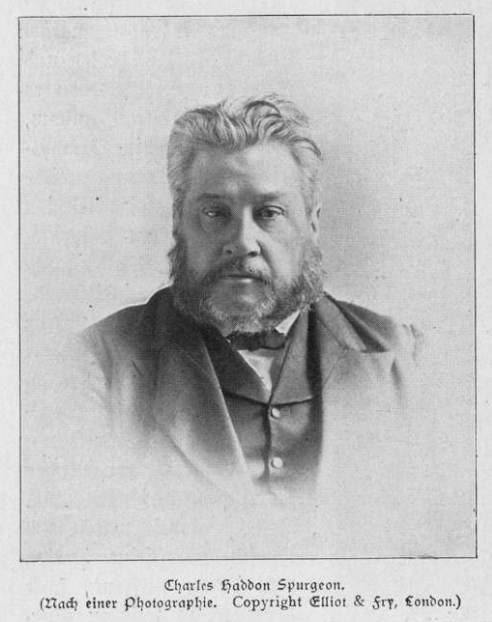 Portrait Charles Haddon Spurgeon