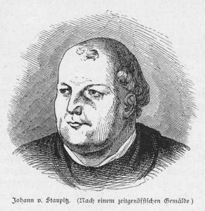 Portrait Johann von Staupitz
