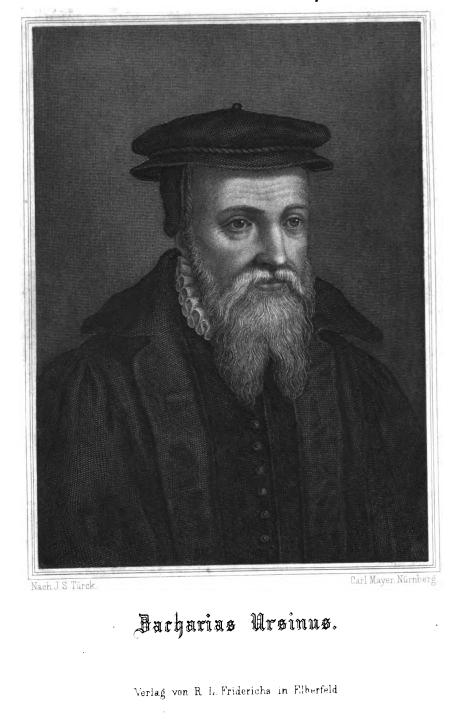 Portrait Zacharias Ursinus