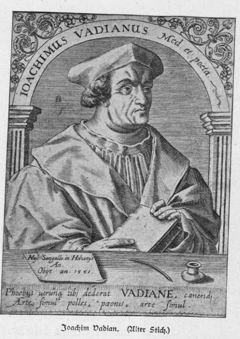 Portrait Joachim Vadian