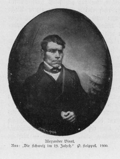 Portrait Alexandre Vinet