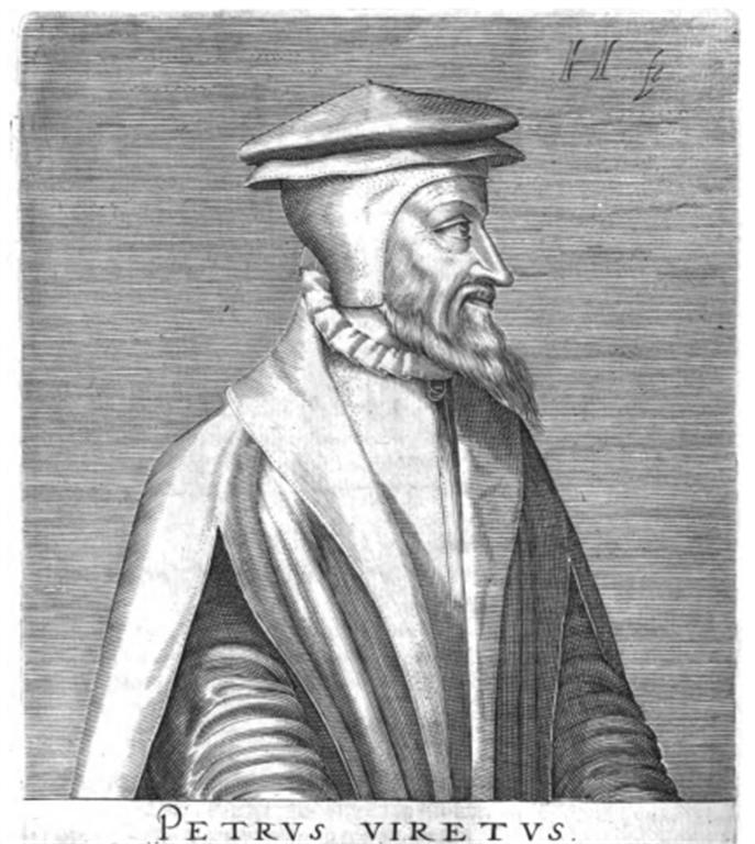 Pierre Viret - Portrait