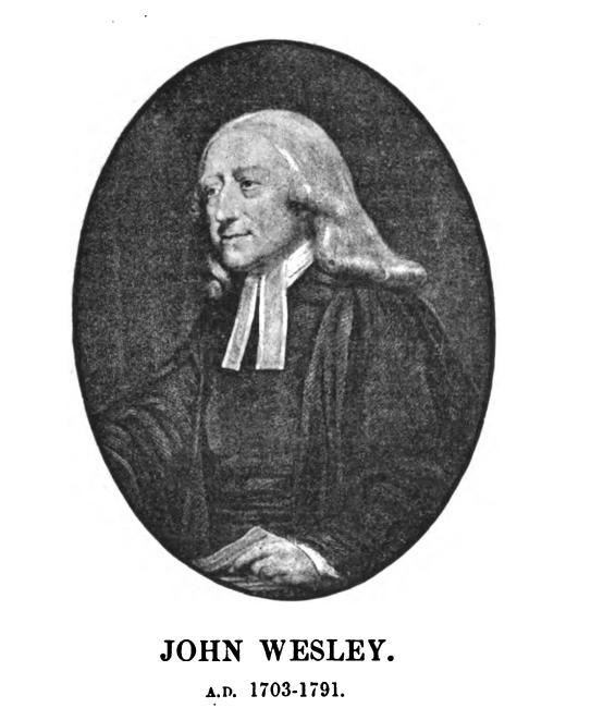 Portrait John Wesley