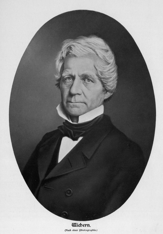 Portrait Johann Hinrich Wichern