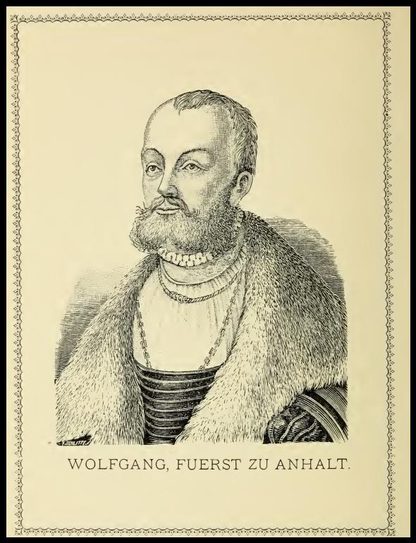 Portrait Wolfgang von Anhalt