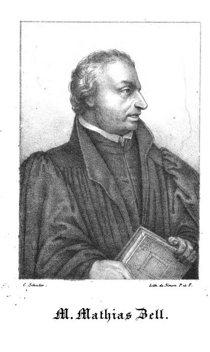 Portrait Matthäus Zell