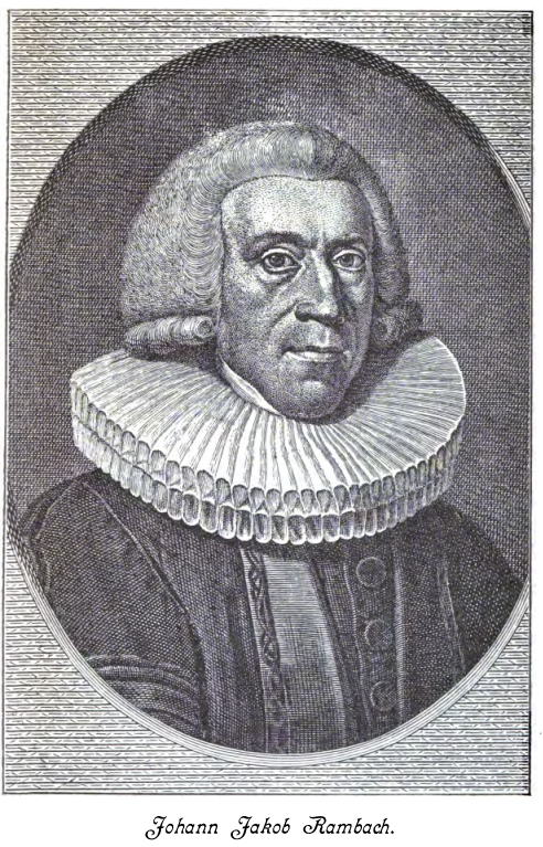 Johann Jakob Rambach