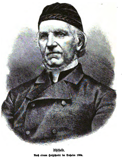 Friedrich Ahlfeld
